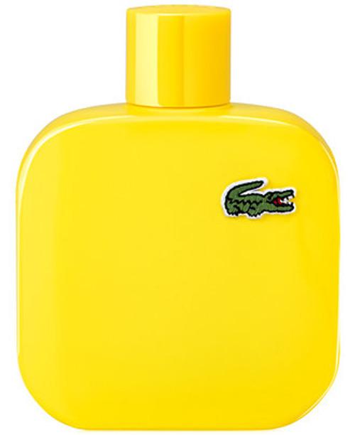 Lacoste Yellow L.12.12 Optimistic Eau De Toilette Pour Homme 3.3oz