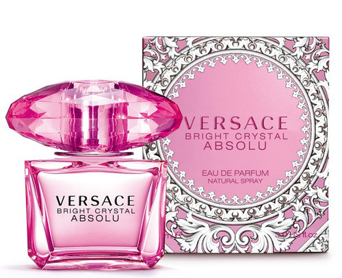 Bright Crystal Absolu by Versace Eau De Parfum Spray For Women 3.0oz