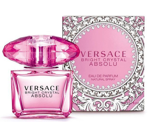 Bright Crystal Absolu by Versace Eau De Parfum Spray 1.0oz Women