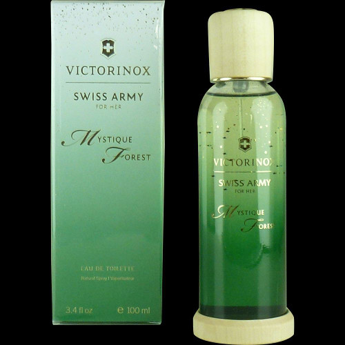 Mystique Forest Victorinox Swiss Army Eau De Toilette Spray For Women 3.4oz