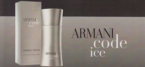 Armani Code Ice By Giorgio Armani Eau De Toilette Spray Pour Homme 1.7oz