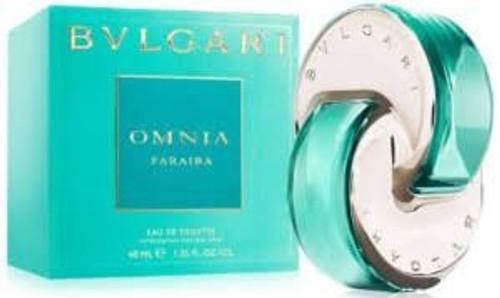 Bvlgari Omnia Paraiba Eau De Toilette Spray 2.2oz For Women