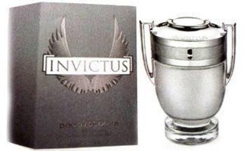 Invictus by Paco Rabanne Eau De Toilette Spray For Men 3.4oz Unbox