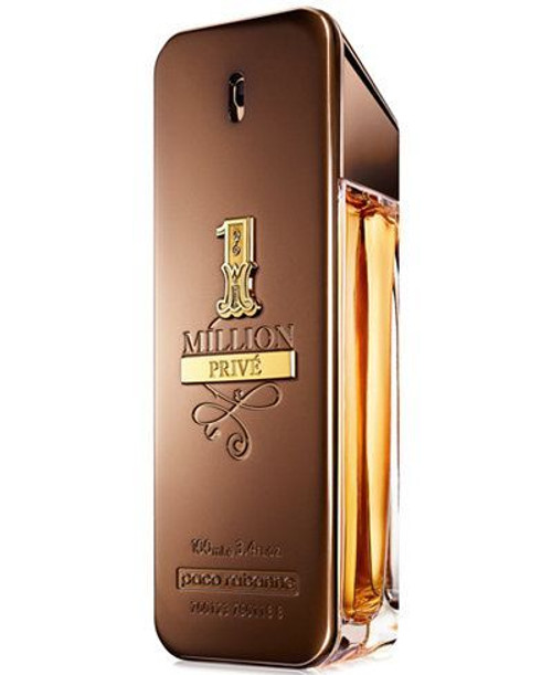 1 Million Prive By Paco Rabanne Eau De Parfum Spray For Men 3.4oz-