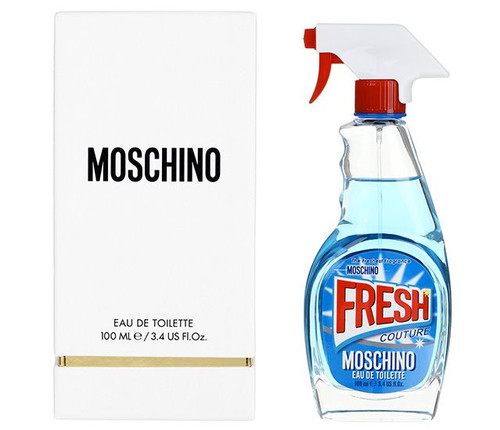 Moschino Fresh Couture Eau De Toilette Spray For Women 3.4oz