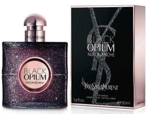 Black Opium Nuit Blanche YSL 1.6oz Parfum Spray Women