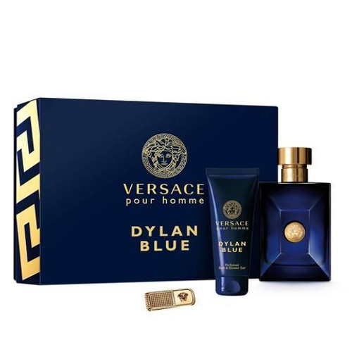 Dylan Blue By Versace 3pc Set Men