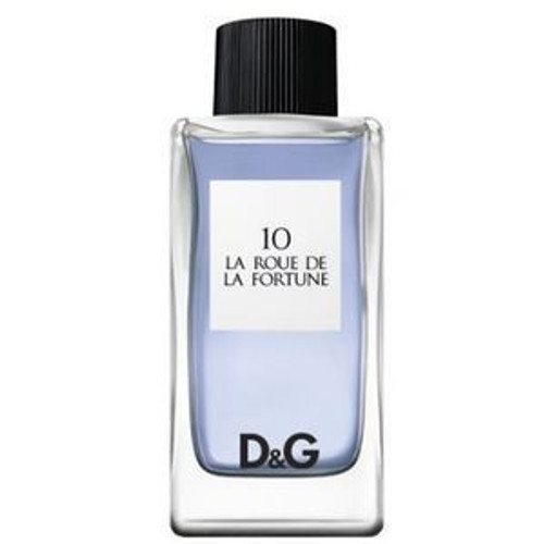10 La Roue De La Fortune by D&G 3.3oz Dolce and Gabbana EDT Unisex UNBOX