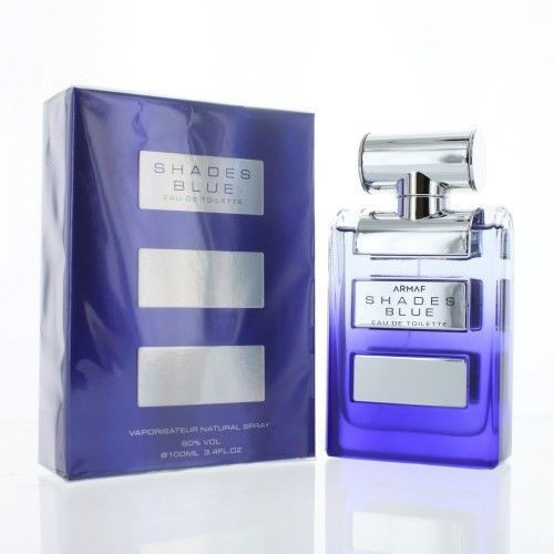 Shades Blue by Armaf Sterling Parfums 3.4oz EDT Men