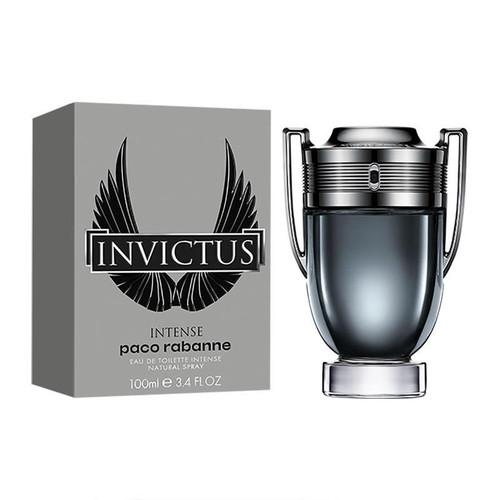 Invictus Intense By Paco Rabanne Eau De Toilette Intense Spray For Men 3.4oz