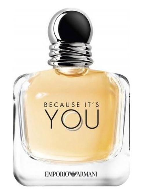 Because its You Emporio Armani 3.4oz Eau De Parfum Spray