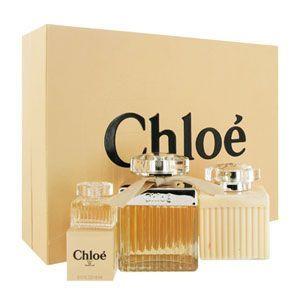 Set Women Gift De Eau 3pc Chloe Parfum Signature hCQdtsr