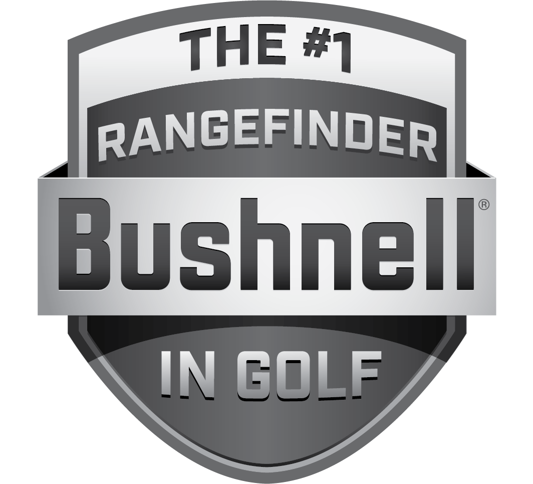 Bushnell Golf Rangefinders - El #1 en el logotipo de Golf Shield