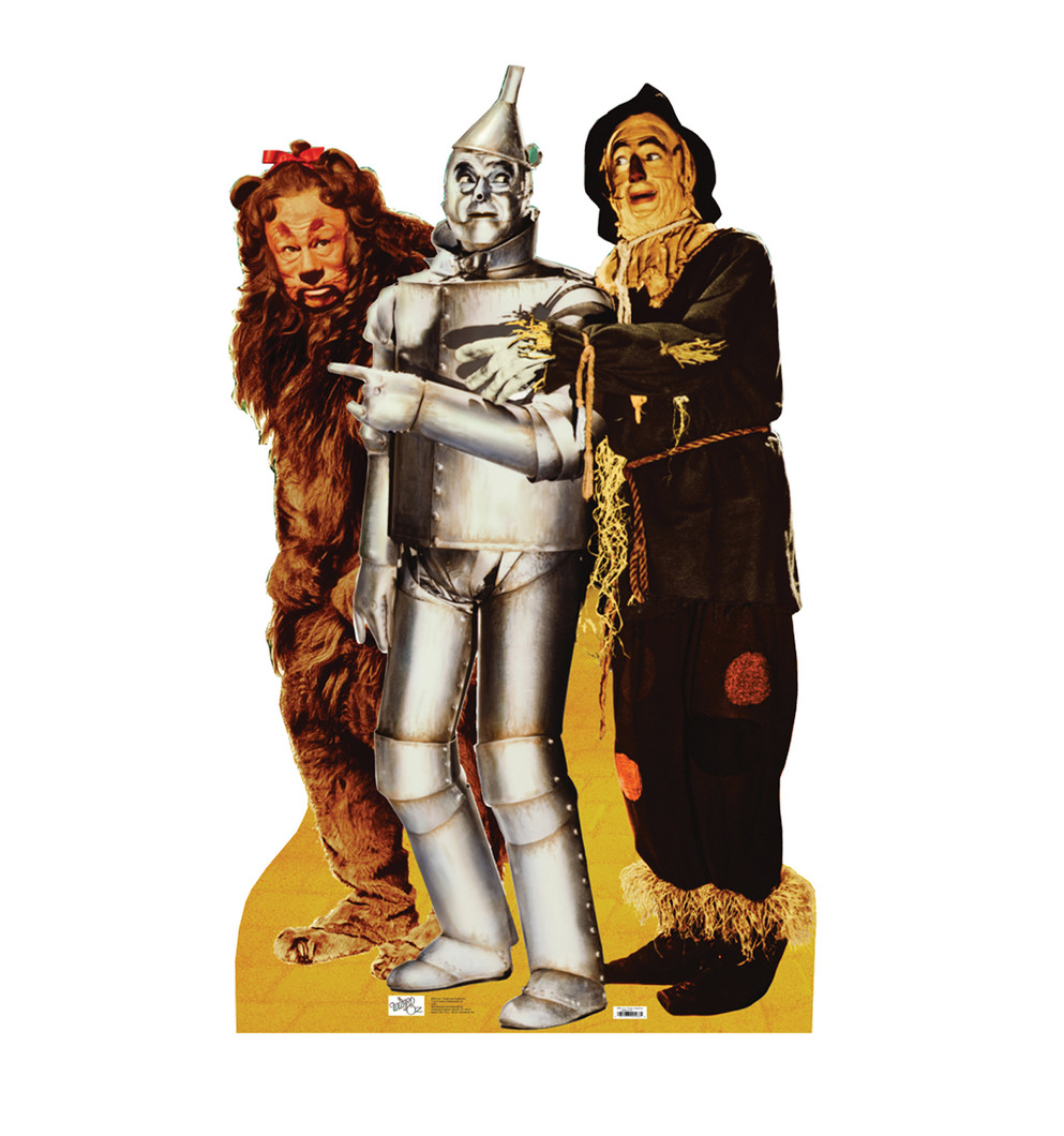 Lion Tinman & Scarecrow (Wizard of Oz)