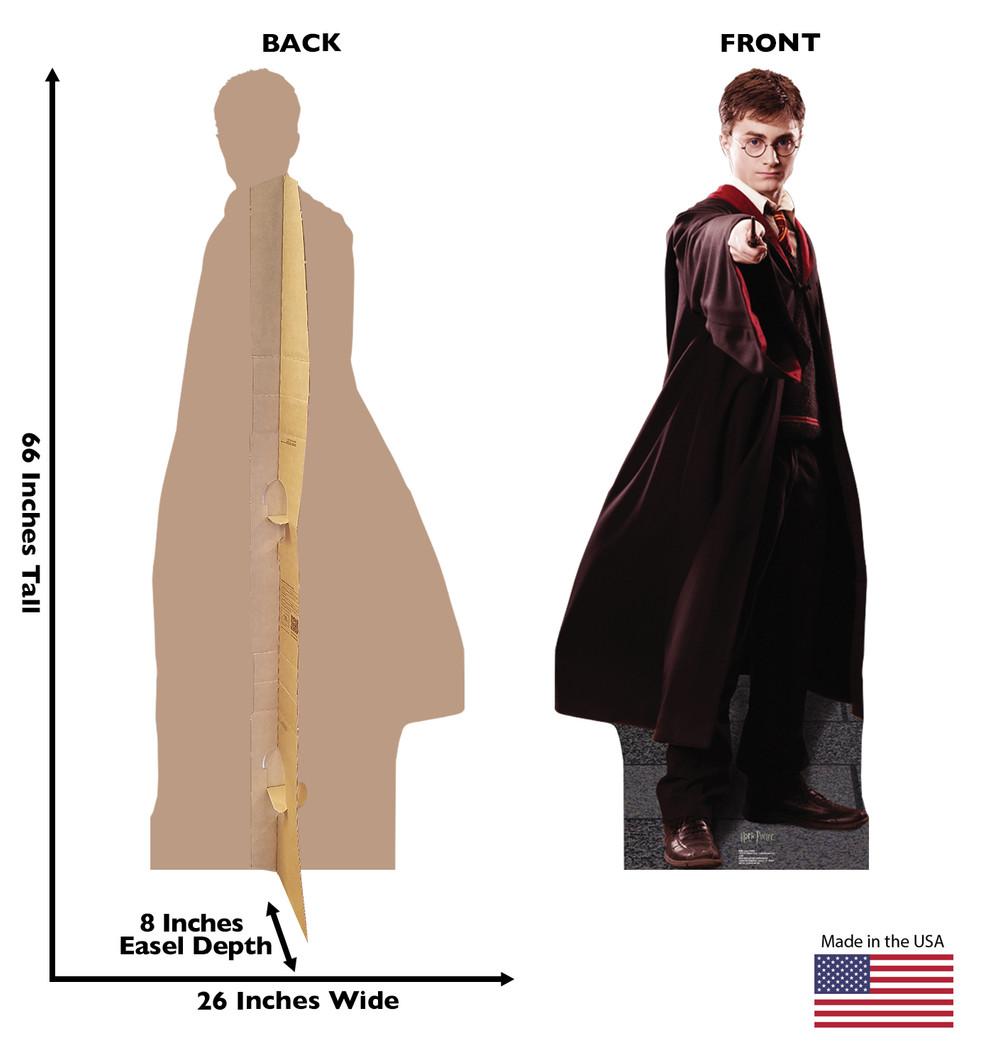 Harry Potter Lifesize Cardboard Cutout Dimensions