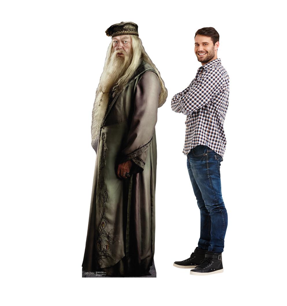 Professor Dumbledore Harry Potter Lifesize Cardboard Cutout with Model
