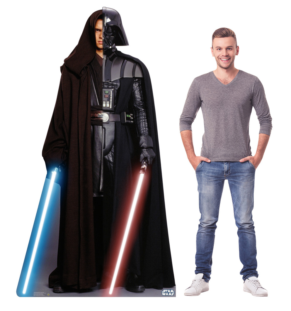 Anakin - Vader - Star Wars Lifesize Cardboard Cutout with Model