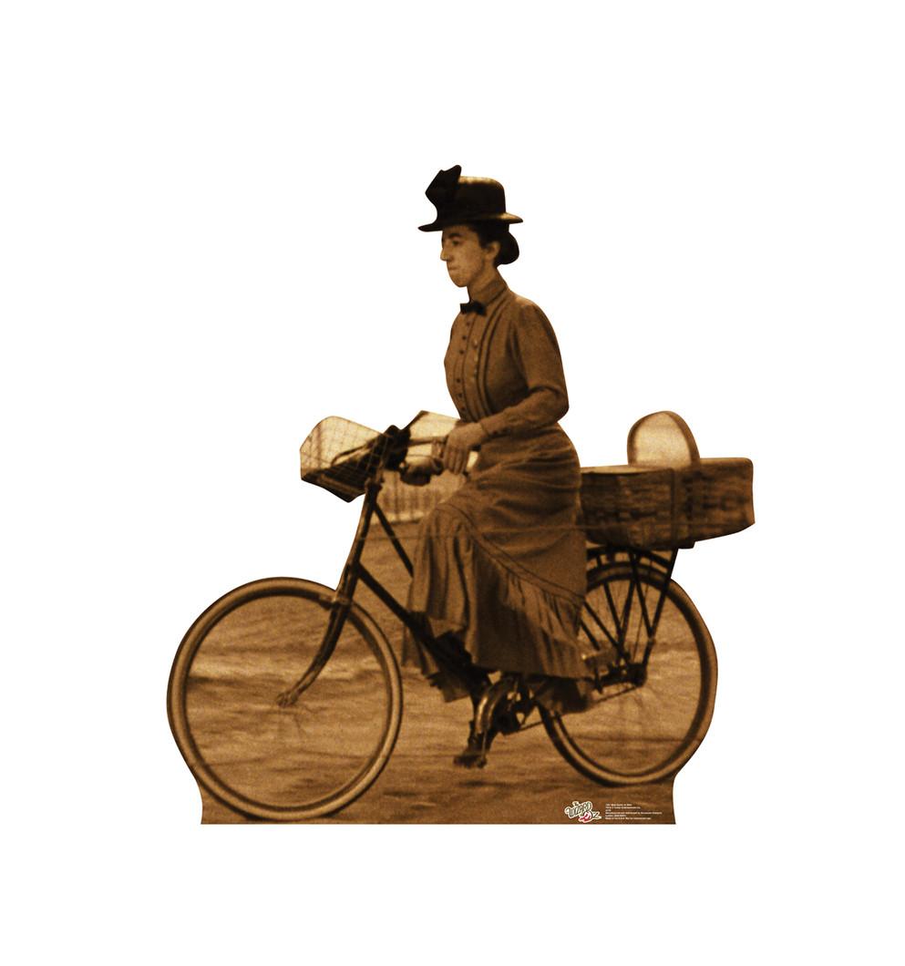 Miss Gulch on Bike - Wizard of Oz Lifesize Cardboard Cutout