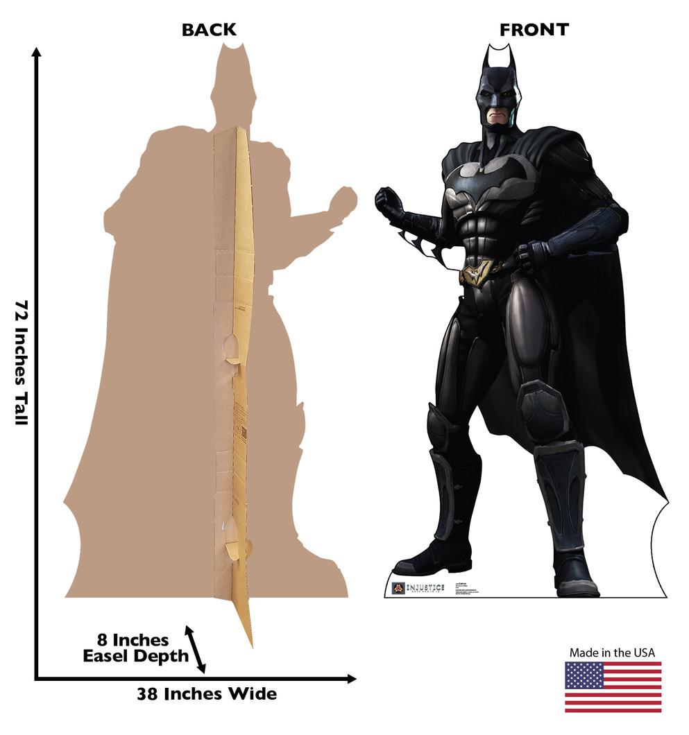 Batman - Injustice Gods Among Us Lifesize Cardboard Cutout