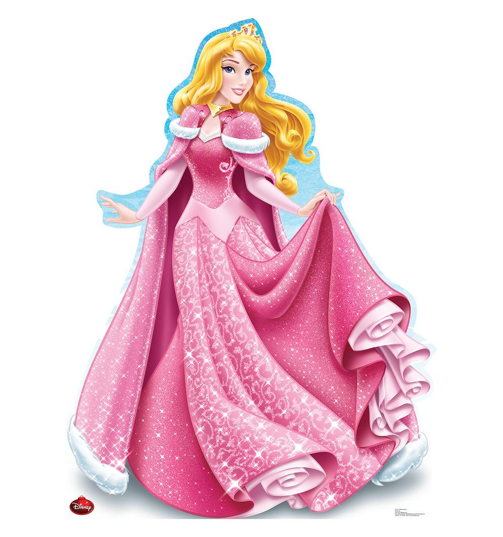 Aurora Holiday - Disney Princess - Sleeping Beauty Lifesize Cardboard Cutout