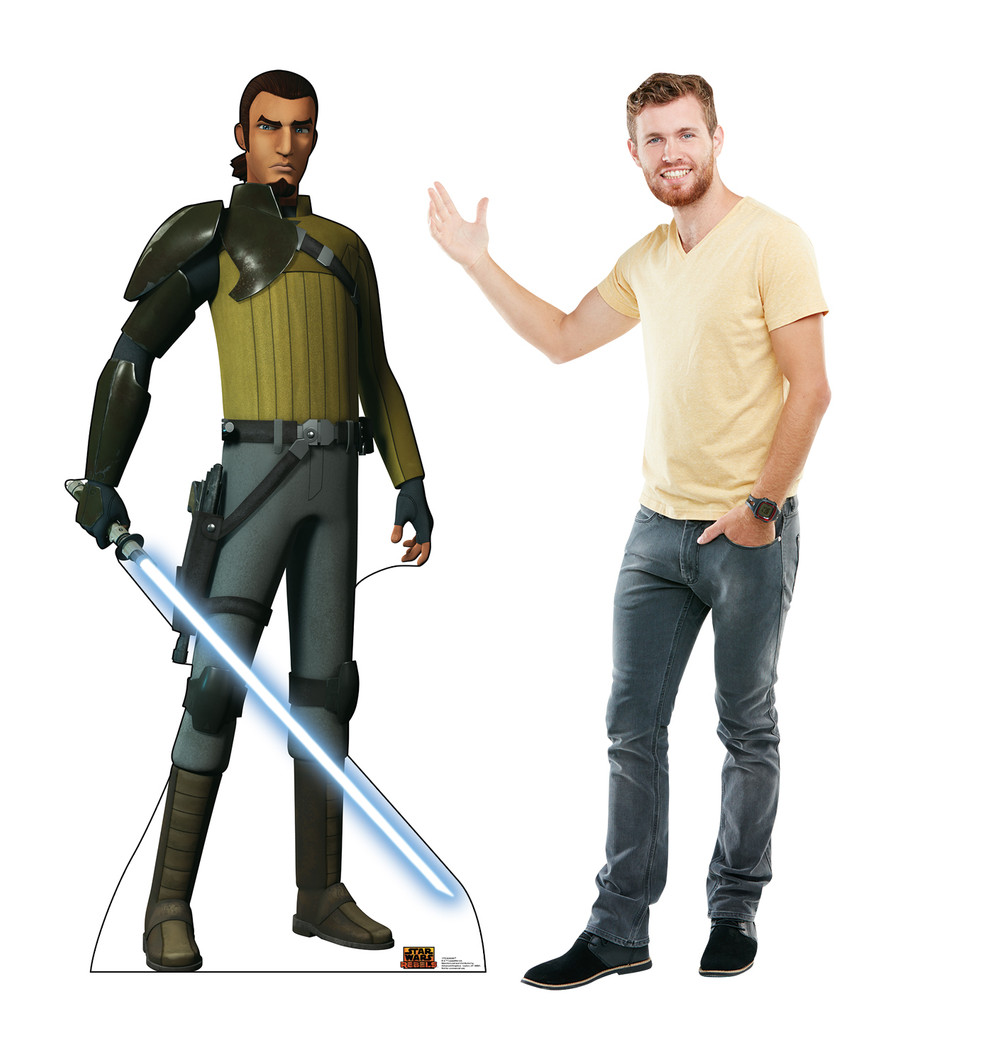 Kanan Jarrus - Star Wars Rebels Lifesize Cardboard Cutout