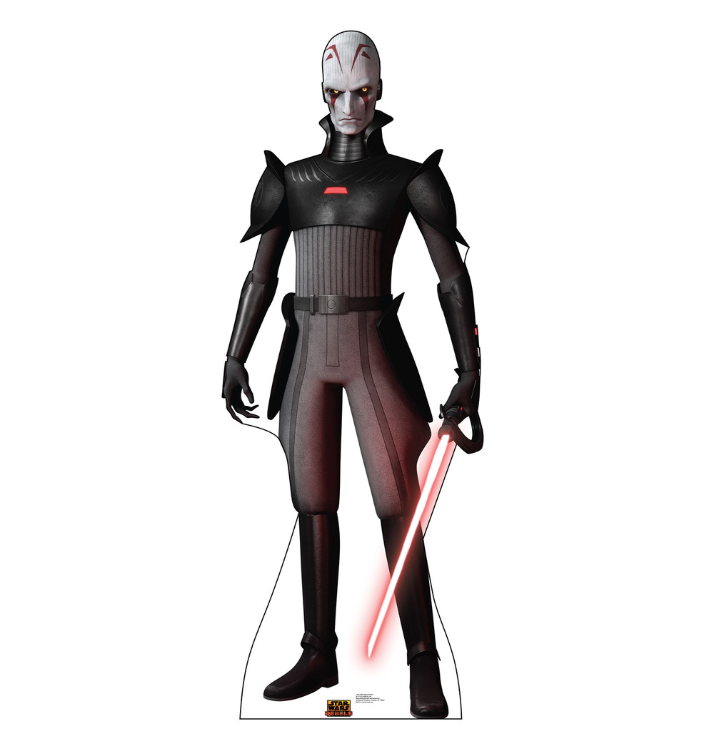 The Inquisitor - Star Wars Rebels Lifesize Cardboard Cutout