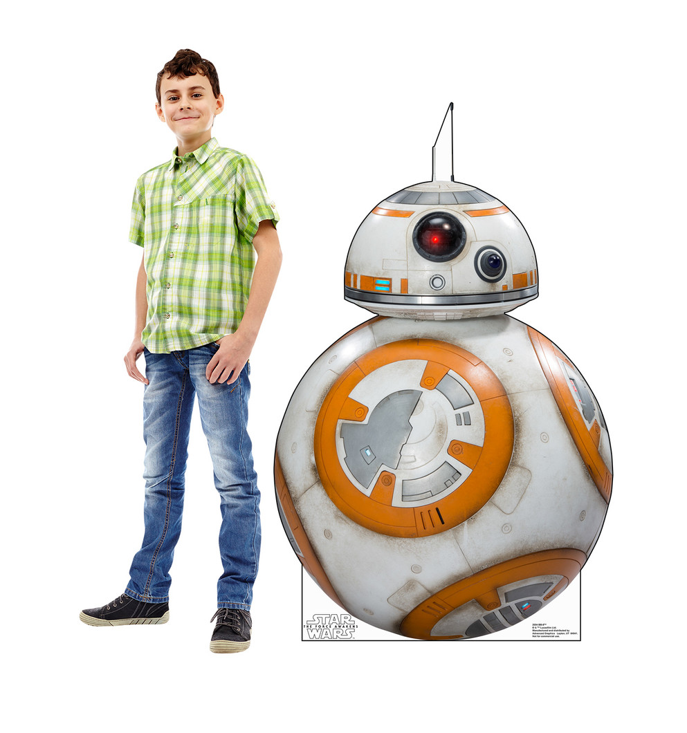 BB-8 - Star Wars VII The Force Awakens Lifesize Cardboard Cutout