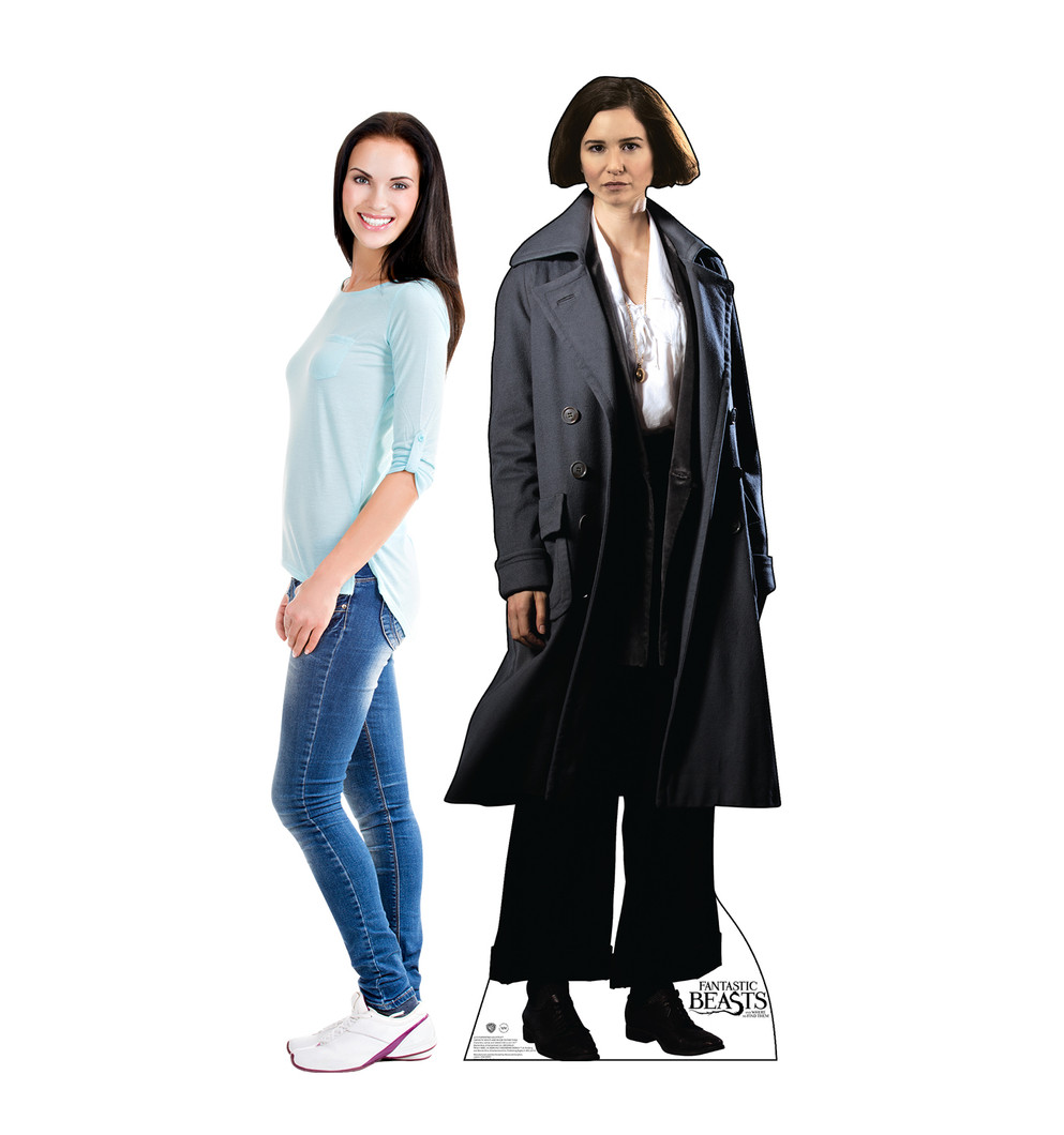 Porpentina Goldstein - Fantastic Beasts and Where to Find Them Lifesize Cardboard Cutout