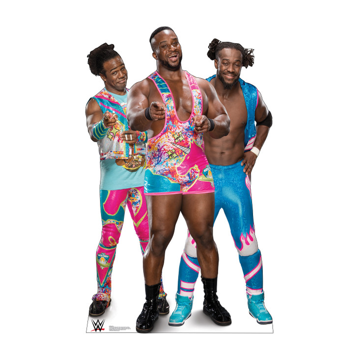 The New Day - Big E, Kofi and Xavier (WWE)