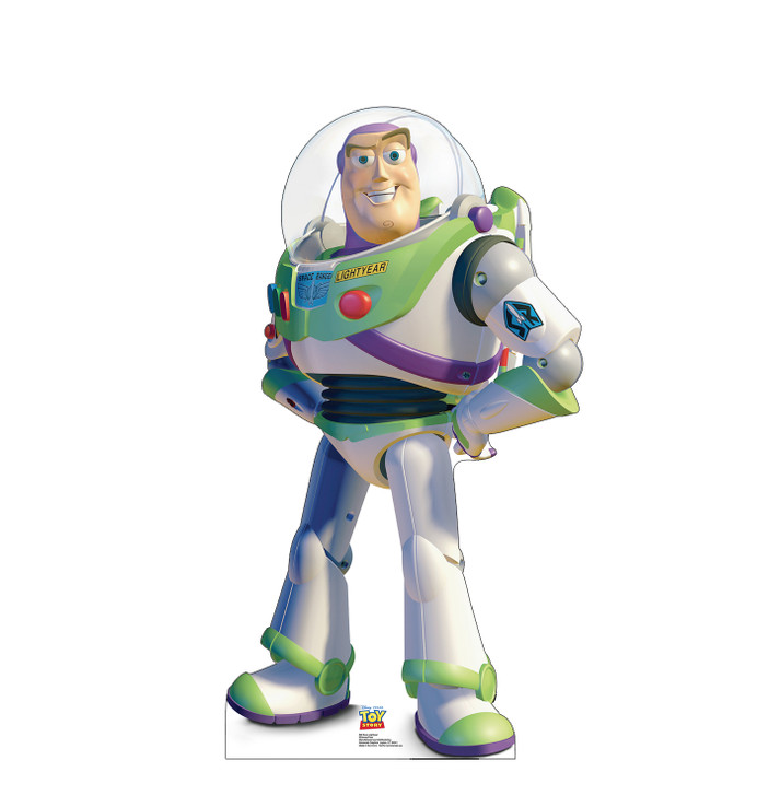 Buzz Lightyear Lifesize cardboard cutout