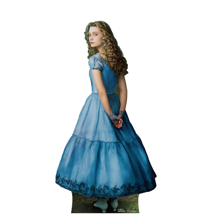 Alice in Wonderland Lifesize Cardboard cutout Disney Live Action