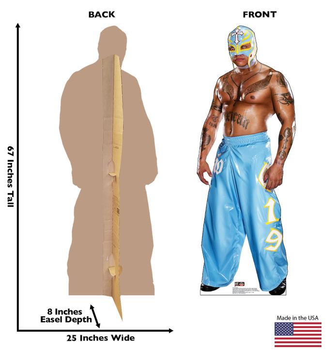 Rey Mysterio WWE Lifesize Cardboard Cutout