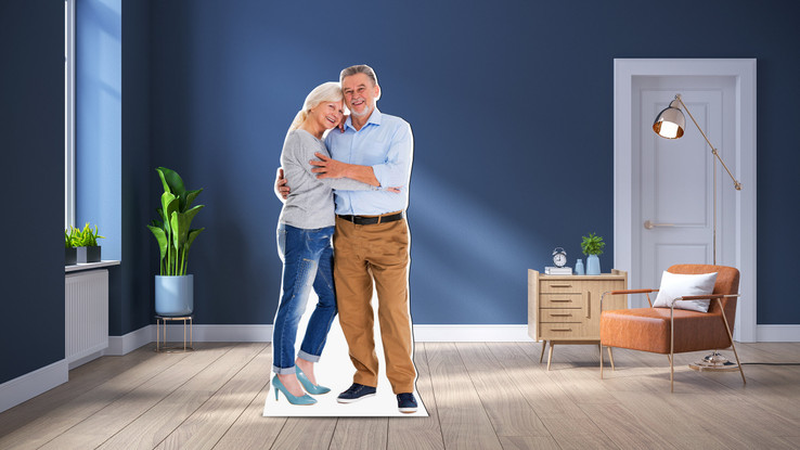 907093669 | Custom Life-size Cutouts for Birthdays and Anniversaries- Made on Material More Durable and Better Than Cardboard Cutouts