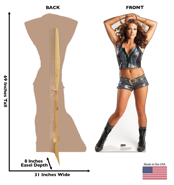 Eve WWE Lifesize Cardboard Cutout