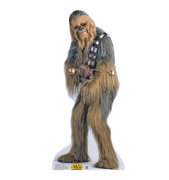 Chewbacca Star Wars Lifesize Cardboard Cutout