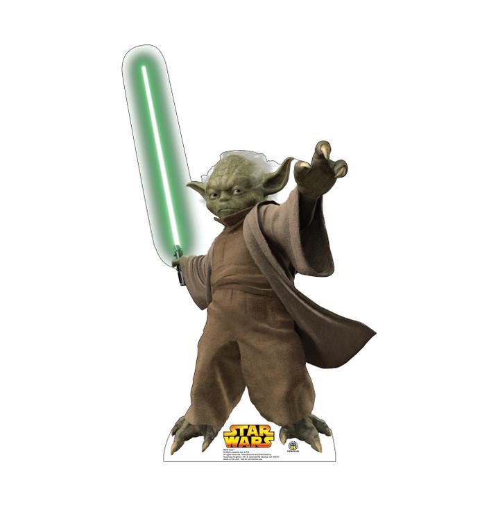 Yoda Star Wars Lifesize Cardboard Cutout
