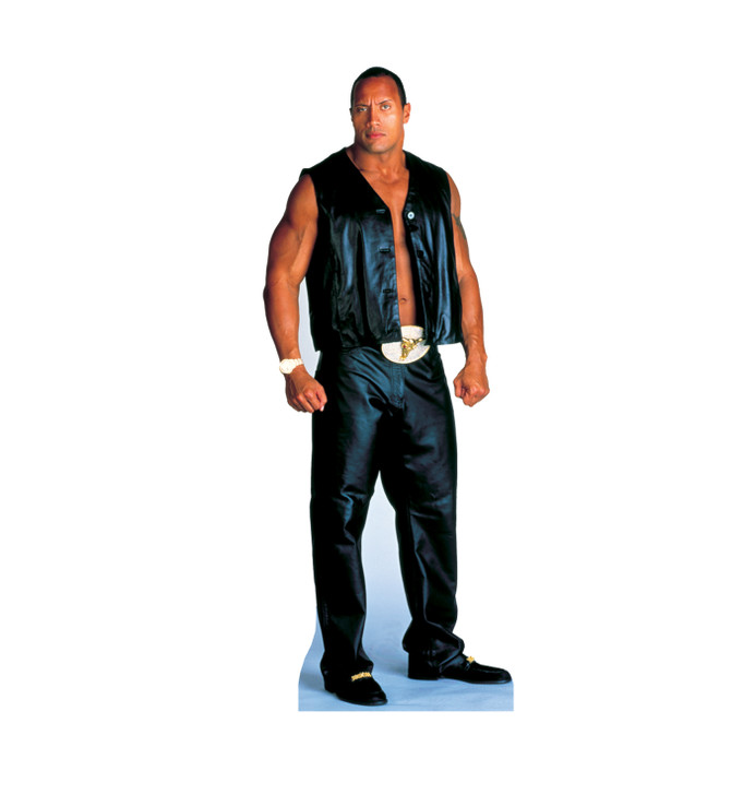 The Rock WWE Lifesize Cardboard Cutout