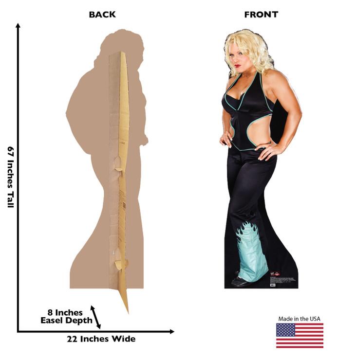 Beth Phoenix WWE Lifesize Cardboard Cutout dimensions