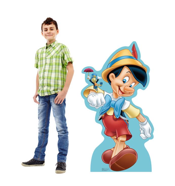 Pinocchio Lifesize Cardboard cutout with Model