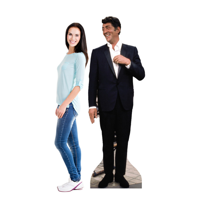 Dean Martin Lifesize Cardboard cutout with model