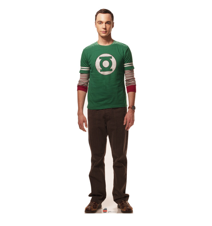 Sheldon - Big Bang Theory  Lifesize Cardboard Cutout