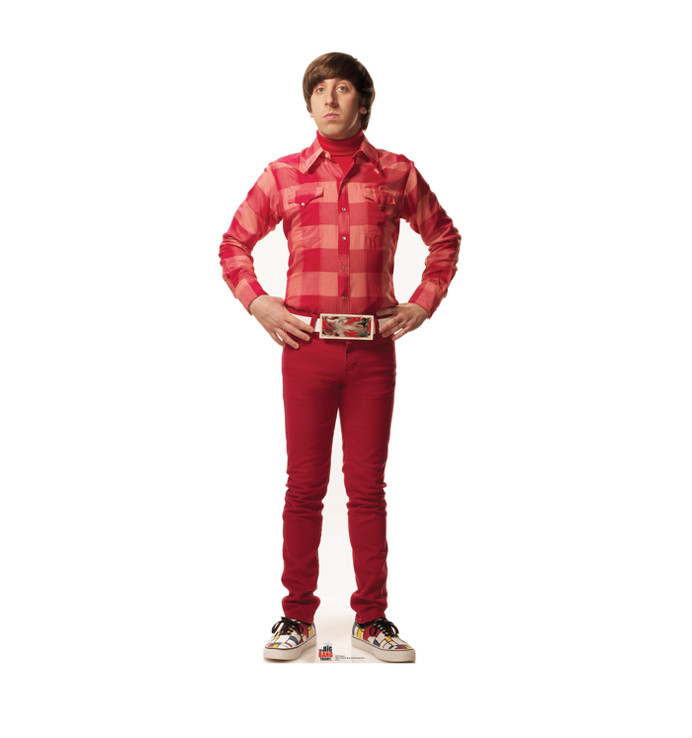 Howard - Big Bang Theory Lifesize Cardboard Cutout