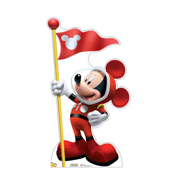 Mickey in Space Lifesize Cardboard Cutout
