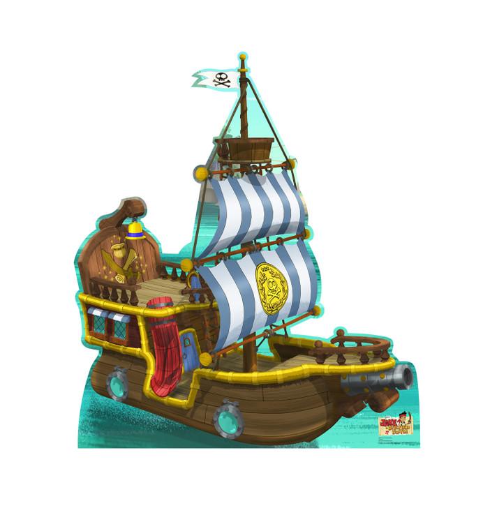 Bucky Pirate Ship - Jake and the Pirates Lifesize Cardboard Cutout