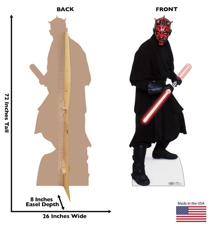 Darth Maul - Star Wars Lifesize Cardboard Cutout