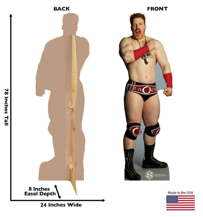 Sheamus - WWE Lifesize Cardboard Cutout