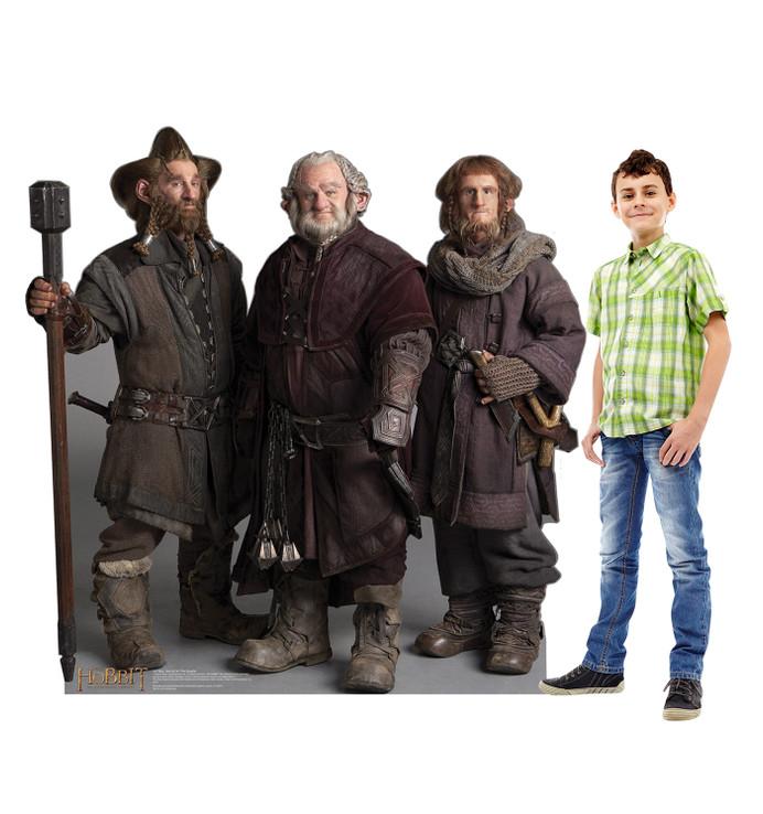 Dwarfs Group - Nori Dori Ori - The Hobbit Lifesize Cardboard Cutout