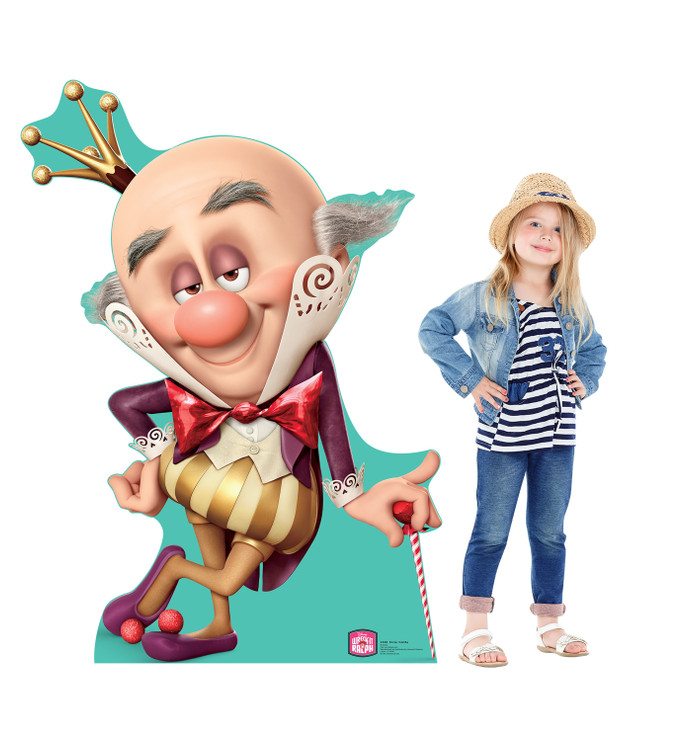 King Candy - Wreck-It Ralph Lifesize Cardboard Cutout With Model