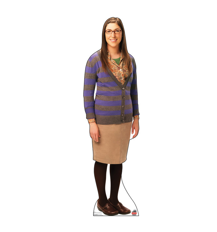 Amy - Big Bang Theory Lifesize Cardboard Cutout