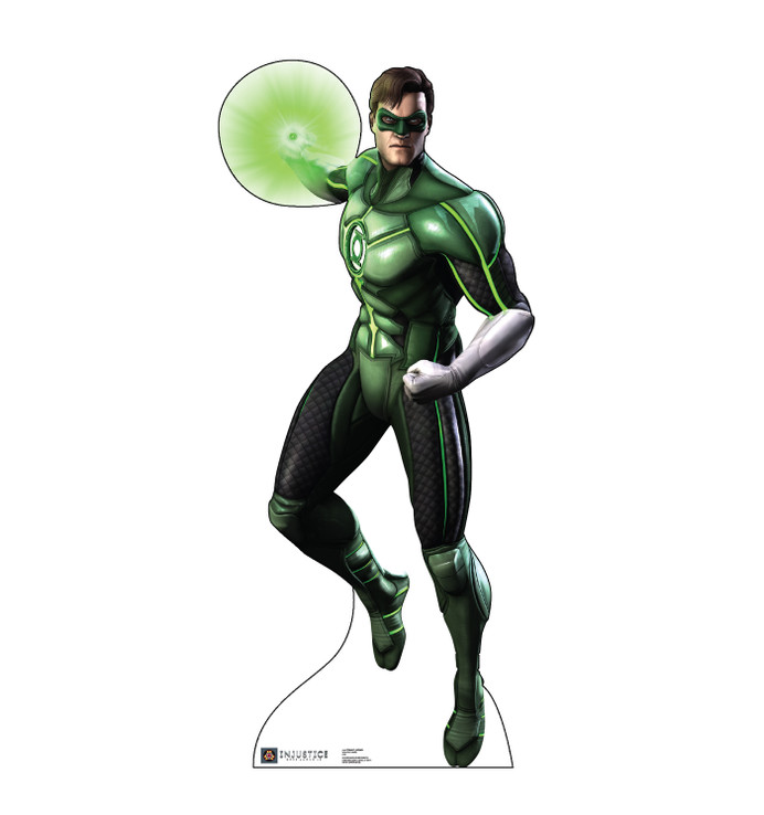 Green Lantern - Injustice Gods Among Us Lifesize Cardboard Cutout
